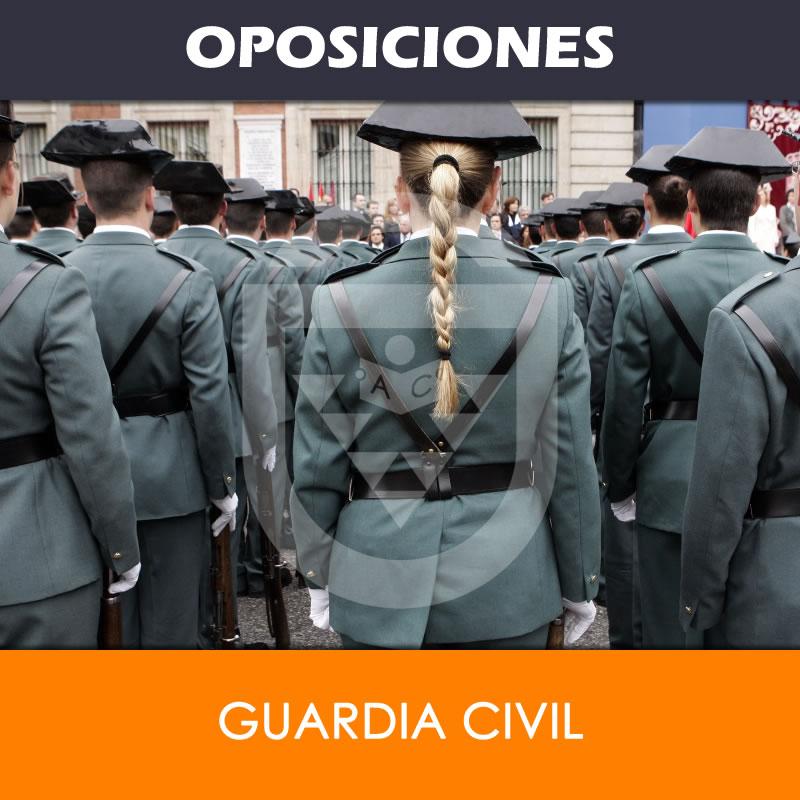 Oposición Guardía Civil (Guardias) - Academia Canaria de Seguridad y ...