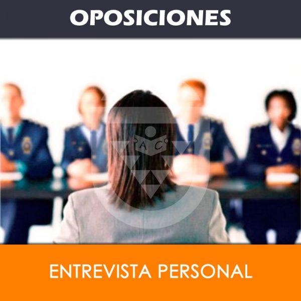 Entrevista Personal para Oposiciones